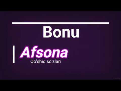 Bonu - Afsona (Lyrics)/ Бону - Афсона