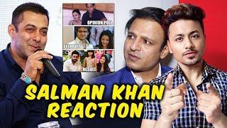 Salman Khan FINALLY Reacts To Vivek Oberoi's Meme On Salman And Aishwarya Rai