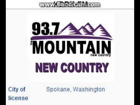 KDRK-FM 93.7 The Mountain Spokane, WA TOTH ID at 2:00 p.m. 7/26/2014