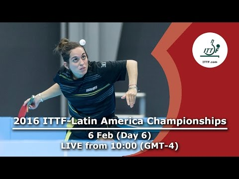 2016 ITTF-Latin American Championships - Day 6