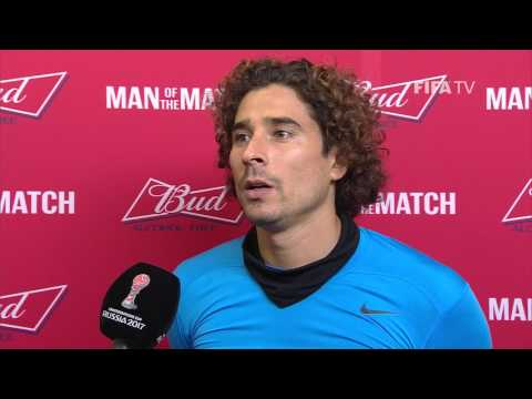 Guillermo Ochoa: FIFA Man of the Match - Match 15: Portugal v Mexico