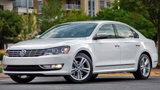 2015 Volkswagen Passat Start Up and Review 1.8 L Turbo 4-Cylinder