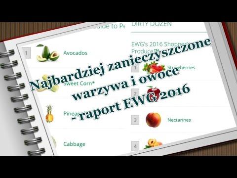 12 najbardziej zanieczyszczonych pestycydami warzyw i owoców - raport EWG 2016
