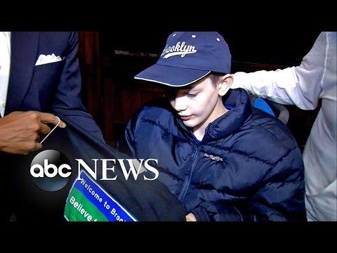 Boy With Terminal Illness Gets NYC VIP Tour