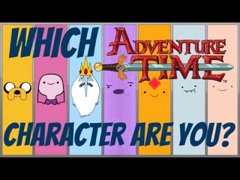 Which ADVENTURE TIME Character Are You? Personality Test