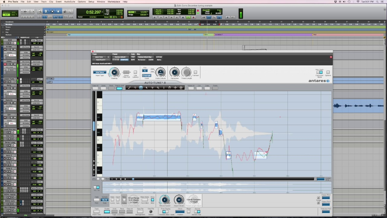 autotune 8.1 how to use
