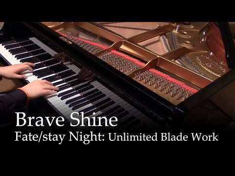 Brave Shine - Fate/stay night UBW OP2 [piano]