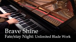 Repeat youtube video Brave Shine - Fate/stay night UBW OP2 [piano]