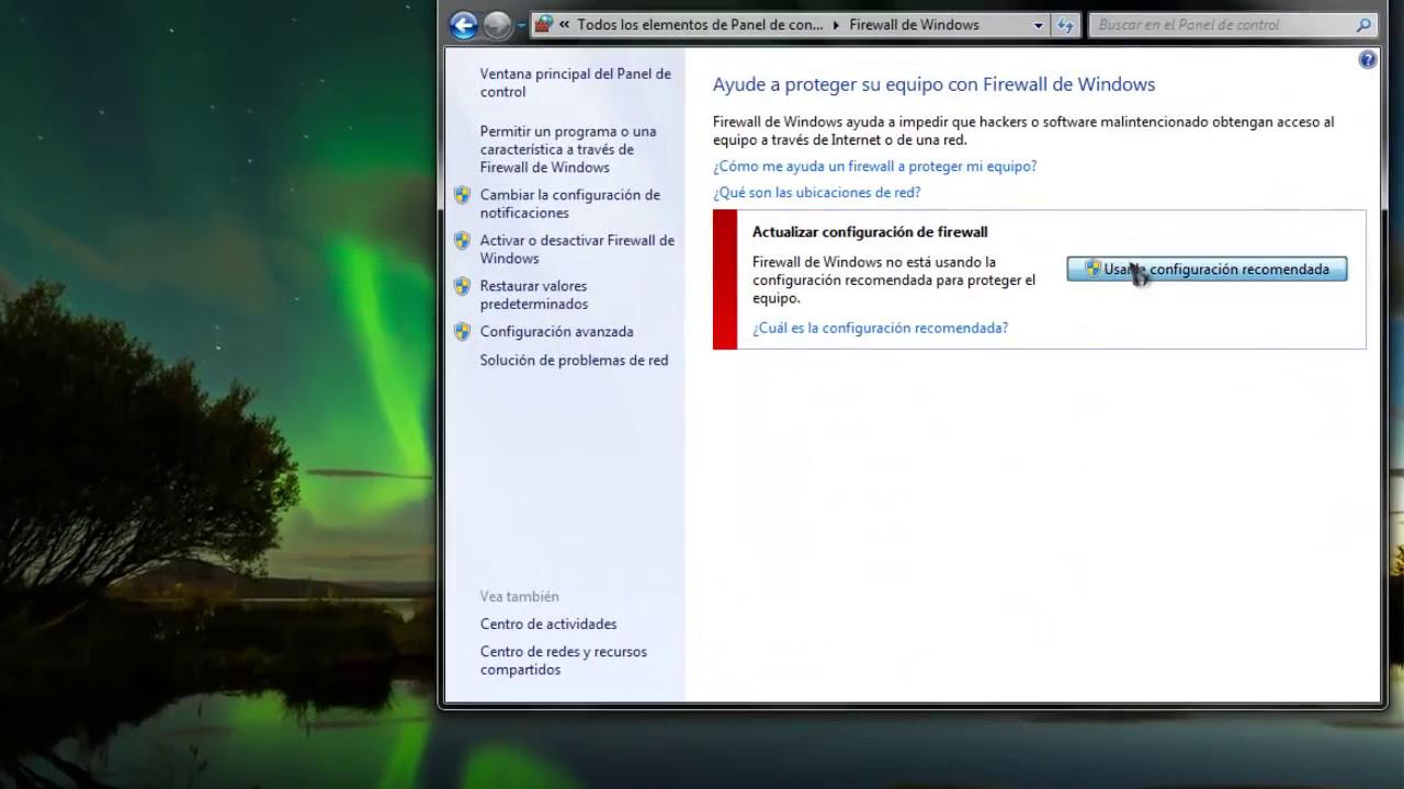 desactivar firewall windows 10 por cmd
