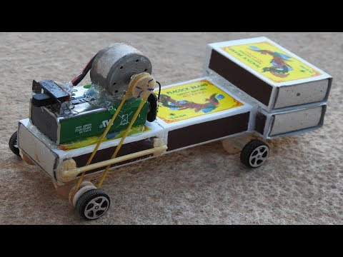 How to make an Electric Toy Car Matchbox Car