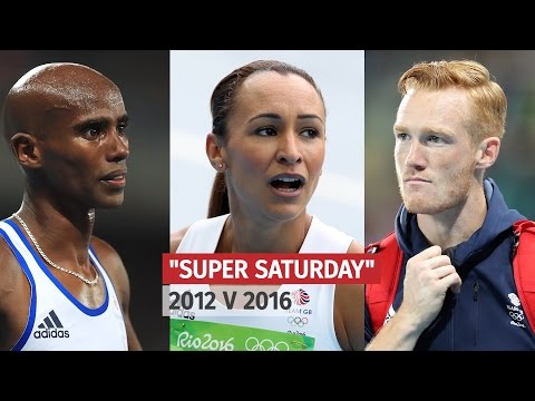 Olympics - Super Saturday - How London & Rio's Big Nights Compared