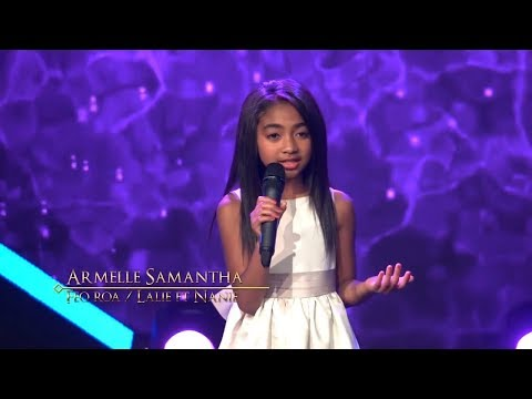 La Voix d'or Armelle Samantha - Feo roa(Lalie ft Nanie) Saison 2 prime 1