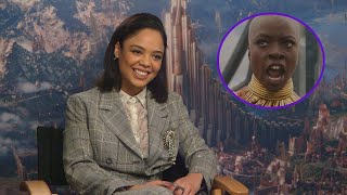 'Thor: Ragnarok' Star Tessa Thompson Wants to Team Up With 'Black Panther' Warriors (Exclusive)