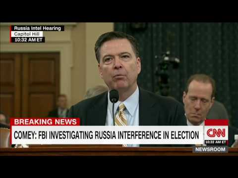 FBI Chief confirms investigation into alleged links between Trump & Russia