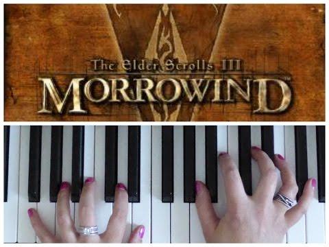 MORROWIND THE ELDER SCROLLS III    EASY Piano Tutorial
