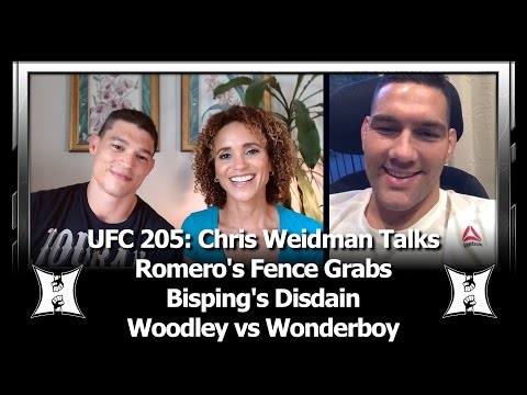 UFC 205: The Only Chris Weidman Interview You Need To See Before He Fights Yoel Romero