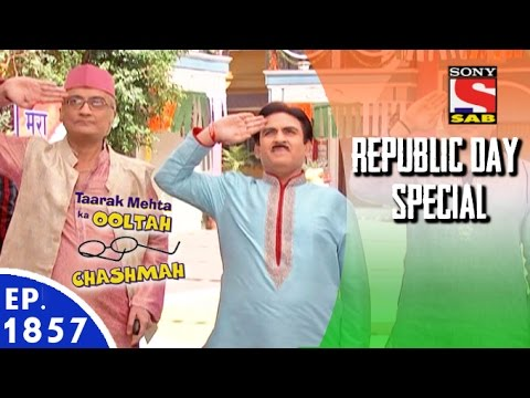 Taarak Mehta Ka Ooltah Chashmah - Celebrates Republic Day - Episode 1857 - 26th January, 2016