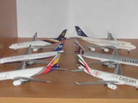 aircraft model collection