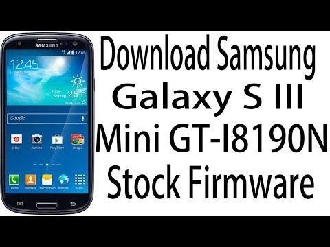 Download Samsung Galaxy S III Mini GT-I8190N Stock Rom