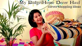 Budget Home Decor Haul || My Clever Shopping Ideas || Kaise Karti Hu Mai sara Shopping!!