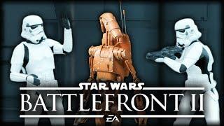 Video Stormtroopers Discuss Star Wars Battlefront 2 Gameplay download MP3, 3GP, MP4, WEBM, AVI, FLV November 2017