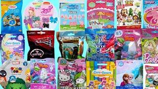 Blind BAGS opening Toys Trolls Peppa PIg Paw Patrol Care Bears PJ MASKS Thomas Disney