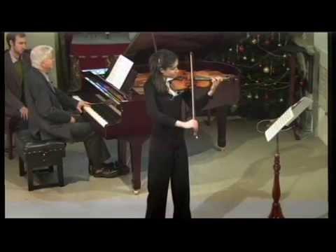 Savitri and Francis Grier play Bartok Violin Sonata no 2