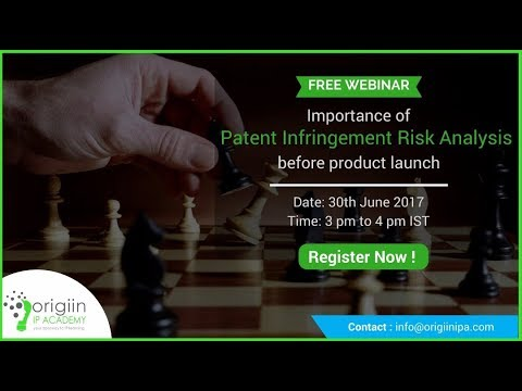 New Product Launch & Patent Infringement Risk