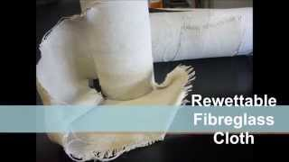 Rewettable Fibreglass Cloth from AG