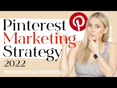 Pinterest Marketing Strategy 2021 REVEALED!  - How to use Pinterest for Business in 10 Steps!