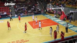 學界精英籃球比賽女子組季軍賽 - 福建中學  vs 中華基督