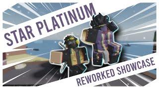 STAR PLATINUM REWORKED SHOWCASE | A BIZARRE DAY ROBLOX