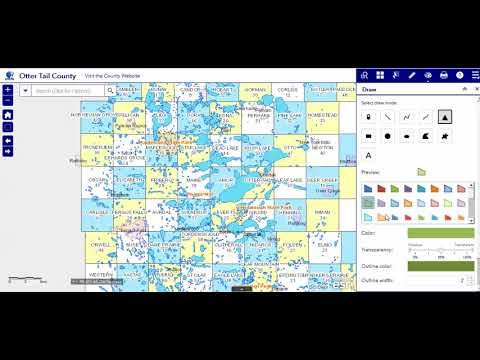 Overview - Otter Tail County, MN GIS Web App