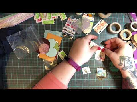Craft with me: Journal embellishments, altered paper clips
