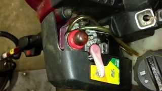 Adjusting weed eater carb without special tool