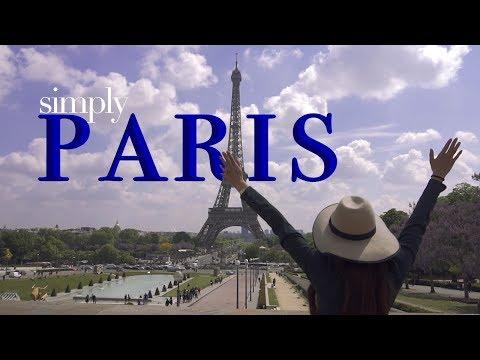 ▌► SIMPLY - PARIS 4k TRAVEL TOUR