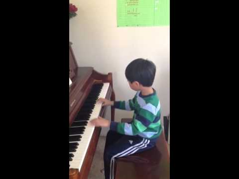 Tyler, age 7, playing Minuet in G Major, Bach.  Studying for 18 months with Joni C.