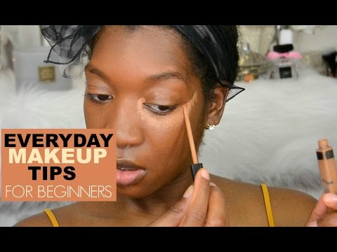 Beginners Make-up Tips   HOW TO: Apply concealer and