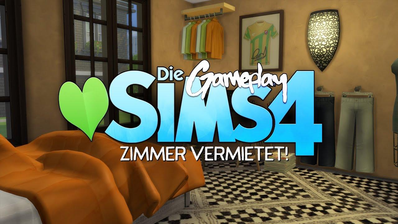 Zimmer vermietet! ☆ DIE SIMS 4 | #170 - YouTube