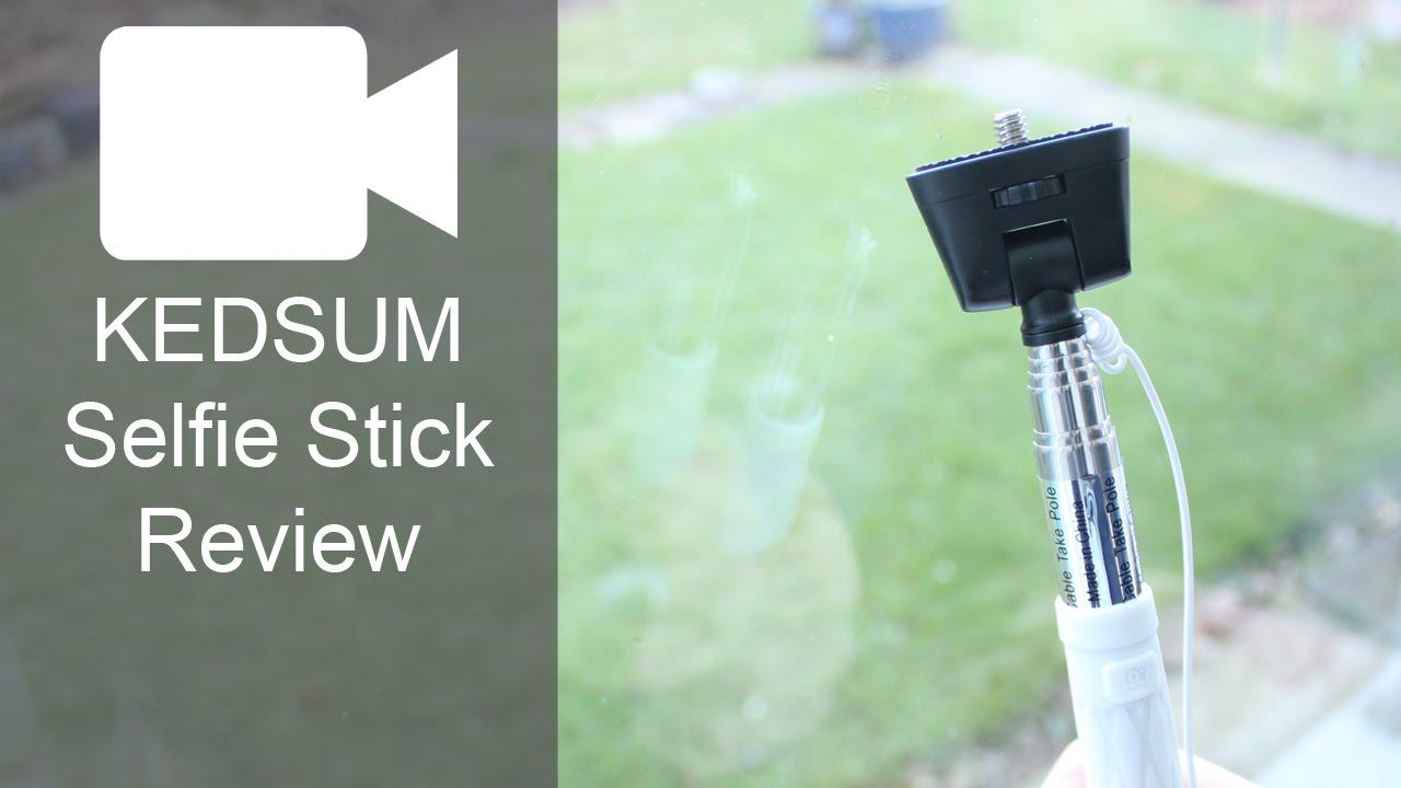 kedsum selfie stick review youtube. Black Bedroom Furniture Sets. Home Design Ideas