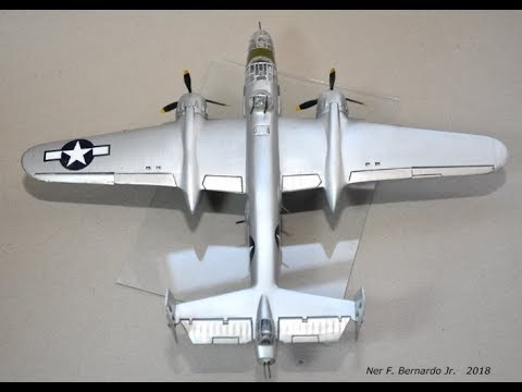B-25 North American Mitchell Bomber Build Airfix in 1/72