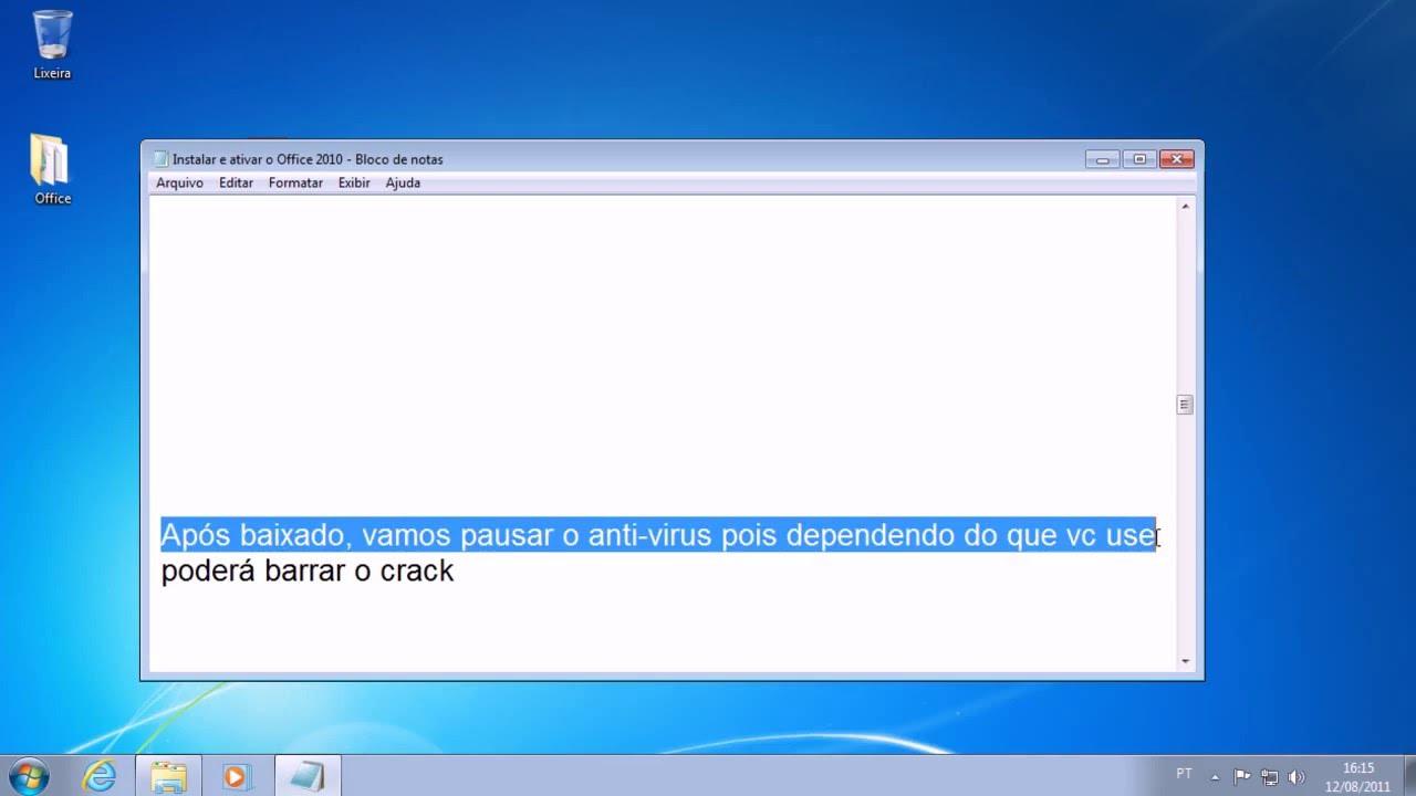 Como Instalar E Ativar Office 2010 32