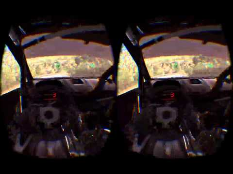 DiRT Rally Oculus test no mistakes.