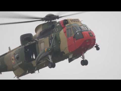 Belgian Air Force Westland Sea King - RIAT 2017 (Day 2)