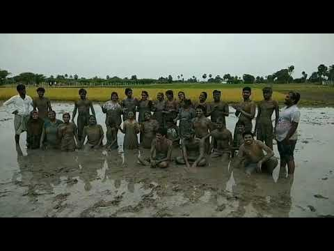 Mud therapy of TCS employees @nalla NILAM farm.