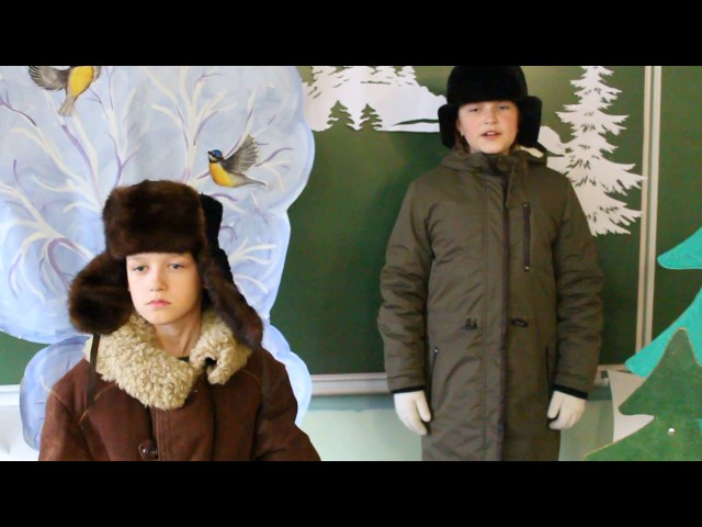 Изображение предпросмотра прочтения – «4-а класс 2017» читают произведение «Крестьянские дети» Н.А.Некрасова