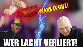 WAXX IT OUT CHALLENGE! | Wer lacht VERLIERT! | CRINGE OVERLOAD