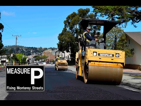 Monterey to Repair 2 Million Sq Ft of Streets in April