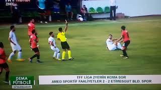 Amed Sportif Etimesgut Bld 2 2 Özet 2 Lig 6 Hafta