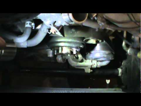 318 Engine Pulley Diagram How To Change A Water Pump Toyota 5 7 Pt 1 Youtube
